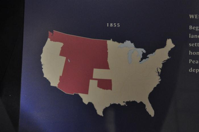 Mapa dos indios nos EUA 4