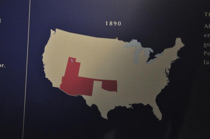 Mapa dos indios nos EUA 5