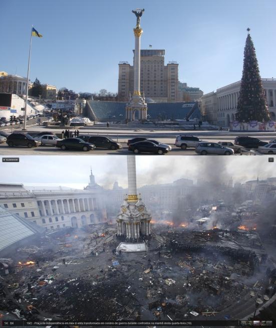 Ucrânia, ontem e hoje