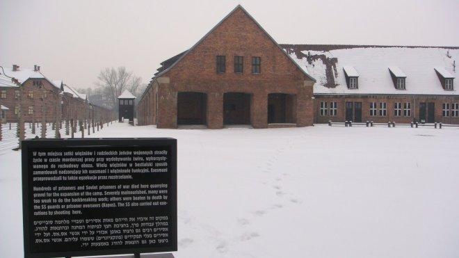 Área na qual prisioneiros de guerra soviéticos eram mortos