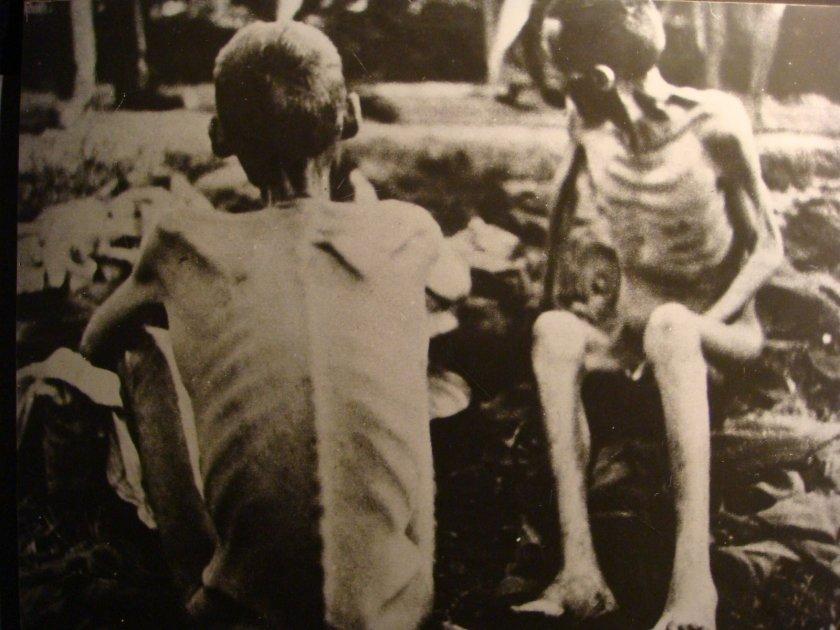 Sobreviventes do campo de extermínio de Birkenau