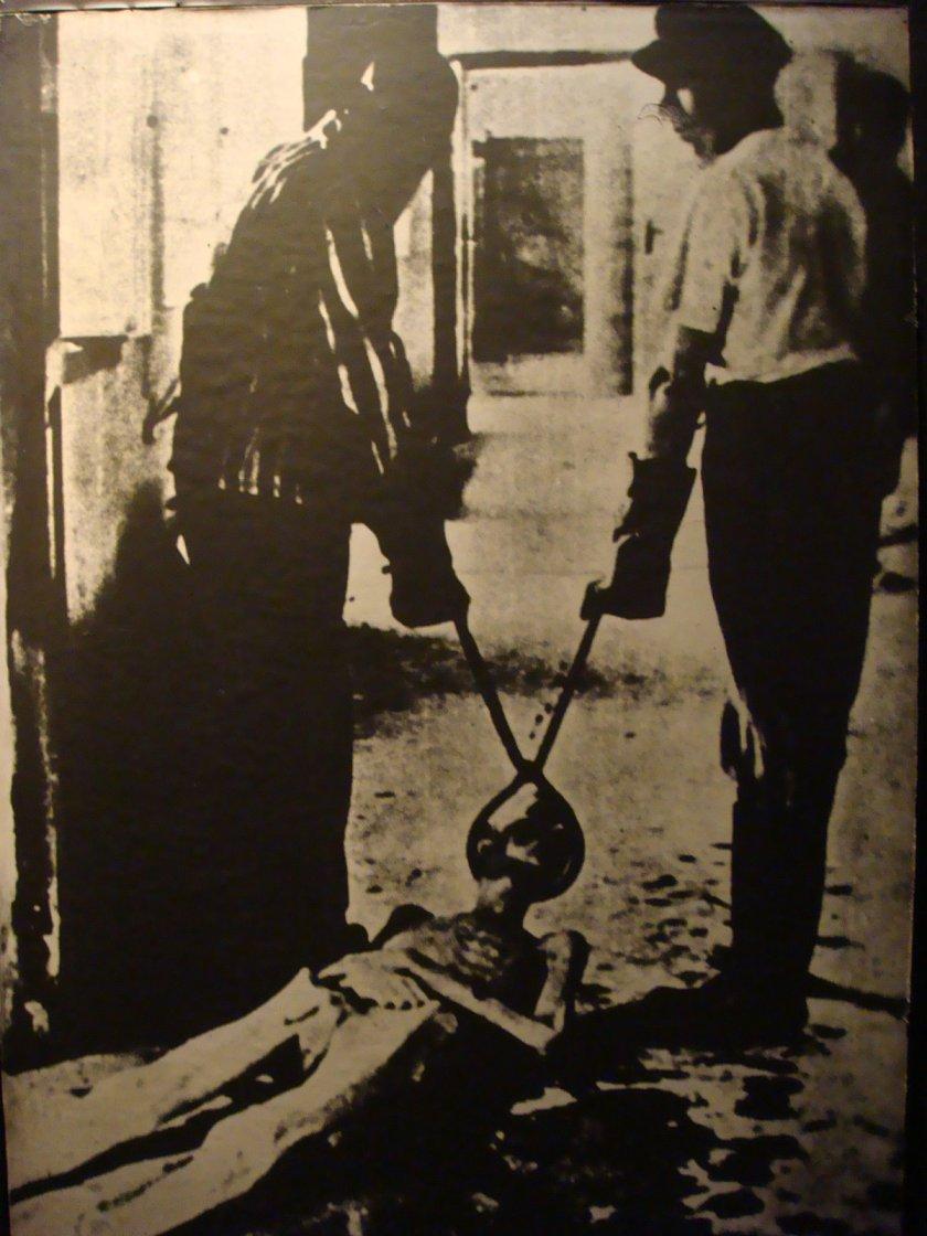 O resultado do campo de extermínio de Auschwitz I e Auschwitz II (Birkenau). A foto fala por si